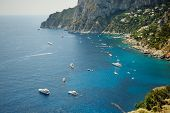 beautiful sea island of Capri