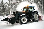 Snow Plow Vehicle