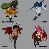 Mythical Creatures Set 14