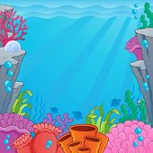 image of undersea  - Image with undersea topic 4  - JPG
