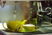 Bar - Preparing Tea In A Tea Pot
