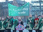 Participants At St. Patrick's Day Parade