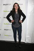 LOS ANGELES - MAR 14:  Kat Dennings arrives at the