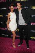 LOS ANGELES - MAR 14:  Cara Santana, Jesse Metcalfe arrives at the 'Spring Breakers