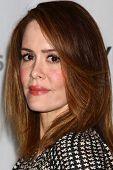 LOS ANGELES - MAR 15:  Sarah Paulson arrives at the