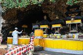 Sacred Ceremony In Goa Lawah Bat Cave, Bali, Indonesia