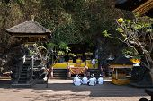 Sacred Ceremony In Goa Lawah Bat Cave, Bali, Indonesia