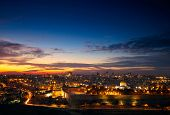 stock photo of middle eastern culture  - View to Jerusalem old city - JPG