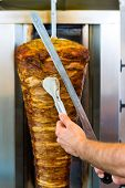 picture of veal meat  - Doner kebab  - JPG