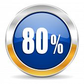 80 percent icon