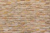 Background Of Stone Texture Wall Surface
