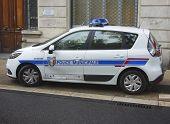Municipal police car in Avignon, France