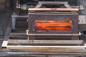 pic of blast-furnace  - Blast furnace the field for the farrier needs to change the knife to horses - JPG
