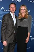 LOS ANGELES - OCT 30:  Philippe Cousteau Jr, Ashlan Gorse at the Oceana's Partners Awards Gala 2013