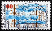 Postage Stamp Germany 1980 Ship's Rigging