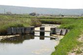 Salt Flats Water Barrier