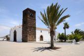 Iglesia en La Oliva, Fuerteventura, España