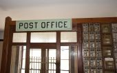 Old Fashioned Antique Post Office