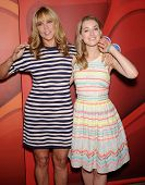 LOS ANGELES - AUG 27:  Mary McCormack & Ella Rae Peck arrives to NBC All Star Summer TCA Party 2013