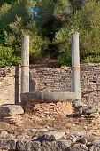 Nympheum Water Fountain To Herdoes Atticus In Olympia Greece