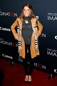 NEW YORK- OCT 24: Actress Samantha Nagel attends the premiere of Canon's 'Project Imaginat10n' Film