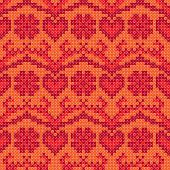 Cross stitch design seamless background
