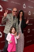 LOS ANGELES - APR 13:  John Varvatos and Family at the John Varvatos 11th Annual Stuart House Benefi
