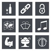 Icons for Web Design set 48