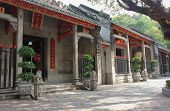 Enter To  Lin Fung Temple (temple Of Lotus) In Macau
