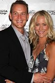 LOS ANGELES - APR 11:  Cole Hauser, Cynthia Daniel at the Long Beach Grand Prix Foundation Gala at W
