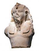 Bust Of An Egyptian Pharaoh