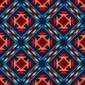 stock photo of aztec  - Tribal abstract seamless pattern aztec geometric background - JPG