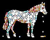Tablets Pills Horse
