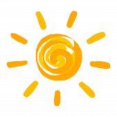 Sun Painted Illustration