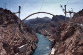 Hoover Dam Bypass Bridge Contruction