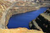 Ausgrabung Metall outdoor mine riotinto