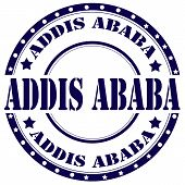 Addis Ababa-stamp