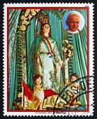 Postage Stamp Paraguay 1983 Our Lady Of The Assumption