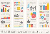 Social Media Infographic Template.