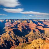 Arizona sunset Grand Canyon National Park Yavapai Point USA