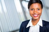 portrait of successful young african businesswoman