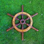 Wooden Helmsman