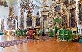 Tver Region, Russia - July 12, 2014: Interior Of The Church Of The Holy Face In The Village Mlevo. C
