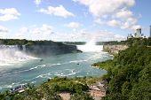 zwei Wasserfälle