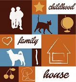 Childhood Family House