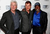 NEW YORK-OCT 5: (L-R) Richard Gere, producer Edward Walson & Ben Vereen attend