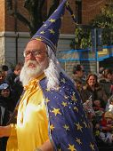 Carnaval - carácter de Merlin