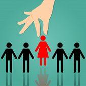 Executive Women Often Choose Same-sex Working Women.