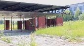 View of an abandoned factory near halt Sibvolokno