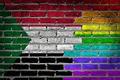 Dark Brick Wall - Lgbt Rights - Sudan